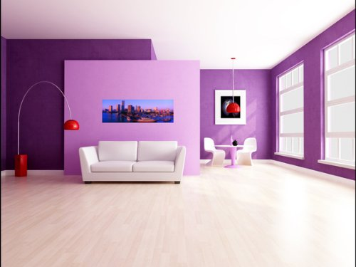 Amazon.com: Panoramic Wall Decals - Ft Lauderdale Skyline (4 foot ...