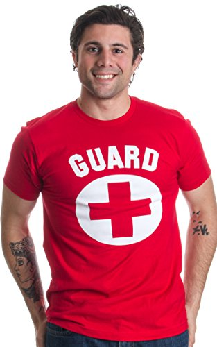 GUARD | Red Professional Lifesaving Swim Rescue Unisex T-shirt