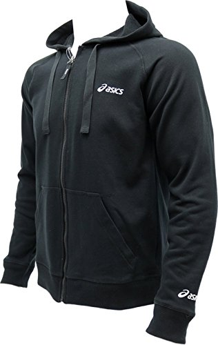 Asics M' S FULL ZIP HODDY Black 4299410738