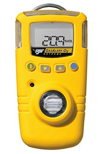 BW Technologies GAXT-P-DL GasAlert Extreme Phosphine (PH3) Single Gas Detector, 0-5.0 ppm Measuring Range, Yellow by BW Technologies