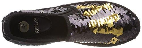Reproducir Damas Ellye Alpargatas De Varios Colores (oro Negro) Tarifa de envío bajo en línea Tienda de venta en línea OyPMRFG1Af