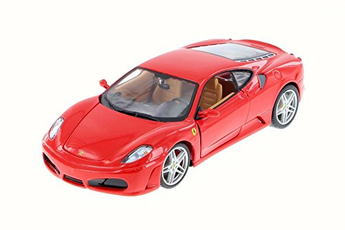Diecast Ferrari F430 (F430 Race, Red - Bburago 26008D - 1/24 Scale Diecast Model Toy Car)
