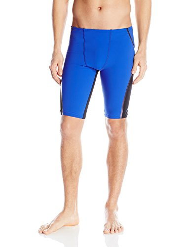 Costume Amazon Speedo Swimming (Speedo Men's Lazer Fit Jammer, Atlantic Blue,)