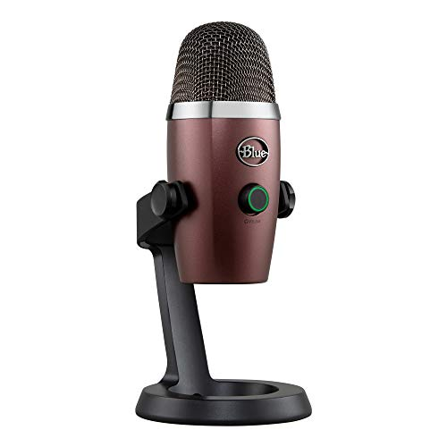Blue Yeti Nano Premium USB Mic for Recording and Streaming - Red Onyx