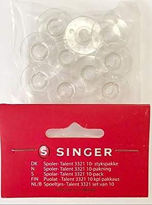 10 Bobinas para máquina de coser Singer Talent Original + ...