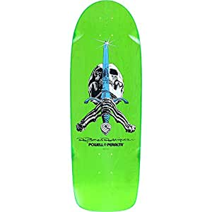 Powell Peralta Paul Rodriguez Skull/Sword 8 Deck 10x30 Green Assembled as COMPLETE Skateboard