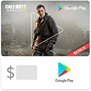 Google Play Gift Code - Email Delivery. Get up to a $52 bonus in Call of Duty: Mobile (US only)