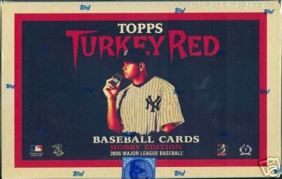 (2006 Topps Turkey Red Baseball HOBBY Box - 24p8c)