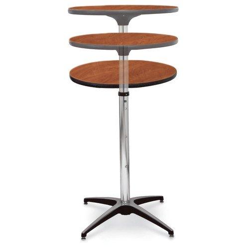 McCourt 72002LWC Laminate Pedestal Table, 36