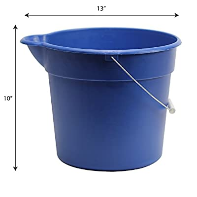 Viking 999800 Heavy Duty Car Wash Bucket - 3 Gallon: Automotive