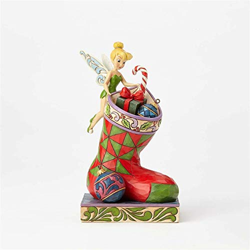 (Enesco Disney Traditions by Jim Shore Tinker Bell Stocking Stuffer Stone Resin Figurine)