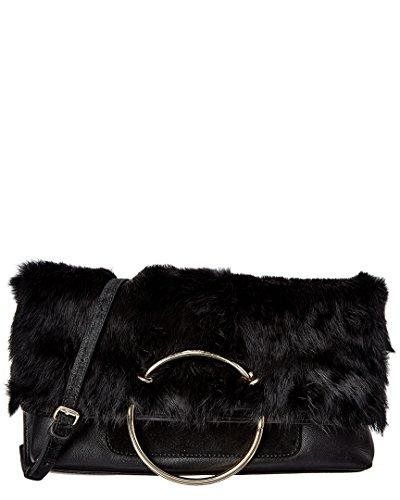 Sondra Leather Roberts Foldover Na Clutch BBFAw6