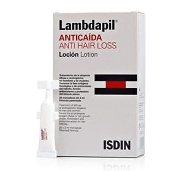 Lambdapil Anticaída Loción, 20 Monodosis. - Isdin Skin Capital