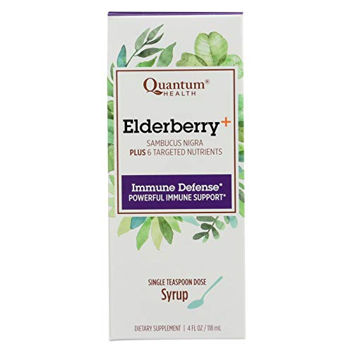 Quantum Elderberry-C Syrup, 4 oz ()