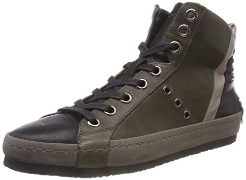 Verde Collo 083 Sneaker 83 Alto 11123aa1 Verde a London Uomo Crime ngqv48Txv