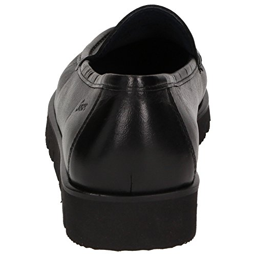 SiouxClair, Mocasines Mujer, Negro