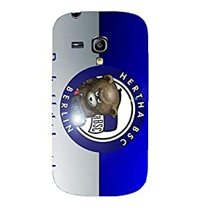 Hertha BSC Phone Case Personalized Hertha BSC Logo 3D Phone Back Case Cover for Samsung Galaxy S3 Mini