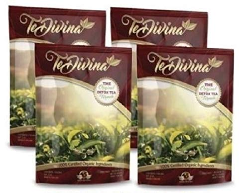 The Original Detox Tea Formula 4 weeks supply. Excellent assistance during the weight loss and detox program (Original Version)