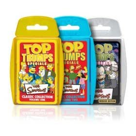 Top Trumps Card Game - Simpsons 3 Pack