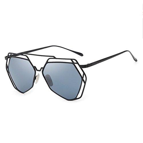 tocoss (TM) marca funda nueva gran espejo gafas de sol mujer ...