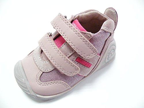 Biomecanics Zapato Velcro Primi Passi hembra Rosa Rosa