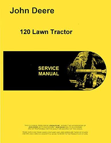 - Service Manual John Deere 120 hydrostatic Lawn & Garden Tractor sm2090