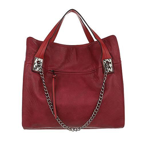 Femme Porter design Pour L'épaule À Sac Ital Rouge qXtzAUX