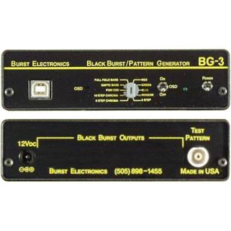 Burst Pattern Generator w/Color OSD/ID NTSC/PAL- Unbalanced Audio - Ntsc Generator Pattern