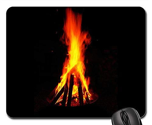 Mouse Pads - Fire Bowl Fire Flame Burn Hot Blaze Garden Grill 1