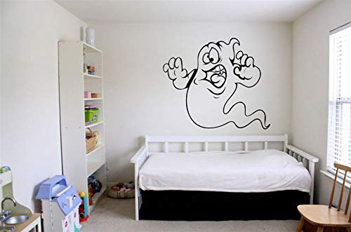 Vinyl Sticker Ghost Casper Cute Funny Spooky Kids