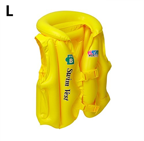 Gloous Kid Baby Adult Inflatable Sea Swimming Pool Vest Float Aid Jacket Swim Training - Venus Pool