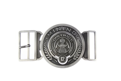 NECA The Hunger Games Movie Belt Buckle Antique