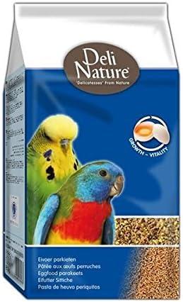 DELINATURE Pasta de Cría Periquitos - 1000 gr, Pájaros
