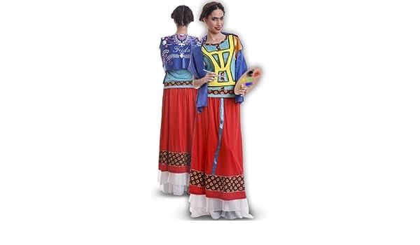 Disfraz de Mejicana Frida para mujer: Amazon.es: Juguetes y juegos