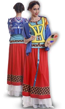 Disfraz de Mejicana Frida para mujer: Amazon.es: Juguetes y ...