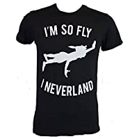 Disney Peter Pan So Fly I Neverland Mens T-shirt