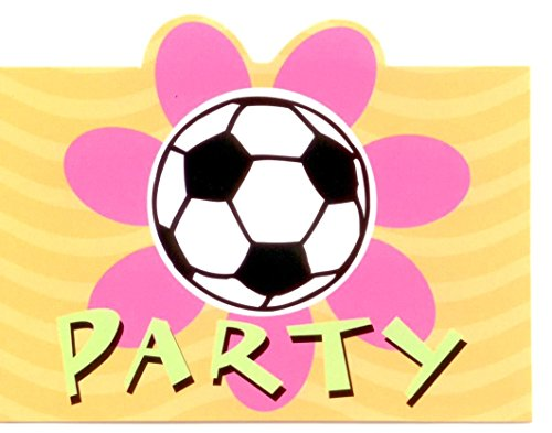 Soccer Party Invitations (Party City Invitations Birthday)