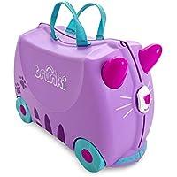 Mala Infantil Trunki - Gata Cassie - Sua viagem muito mais divertida - cor Lilas, Trunki, Multicolorido