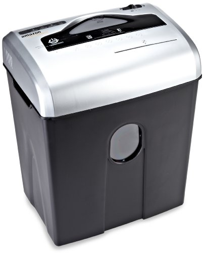AmazonBasics 12 Sheet Cross Cut Credit Shredder