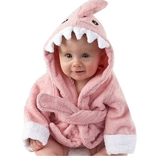 shark bathrobe toddler - 8