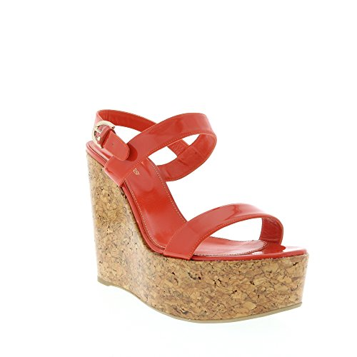 sergio-rossi-red-patent-leather-two-band-sandal-w-cork-covered-wedge-heel-it-40