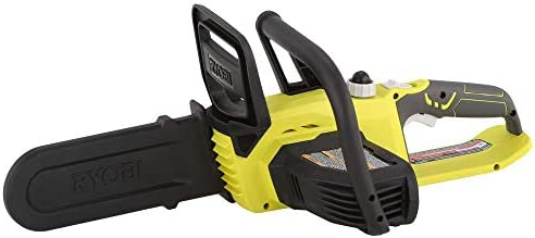 Ryobi ONE 10 in. 18-Volt Lithium-Ion Cordless Chainsaw – Battery and Charger Not Included