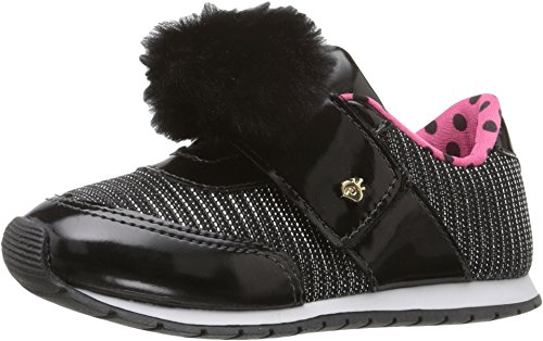 Pampili Baby Girl's Mini Joy 135.002 (Infant/Toddler) Black Sneaker 23