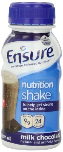 Ensure Bottles, Milk Chocolate, 8-Ounces, 48 x 8-fl-oz Bottles