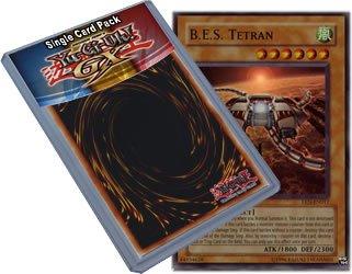 YUGIOH Tetran EEN-EN017 Ultimate Rare 1st Edition B.E.S