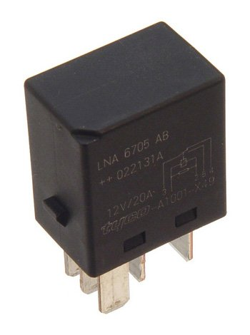 OES Genuine Black Relay for select Jaguar models W0133-1631228-OES