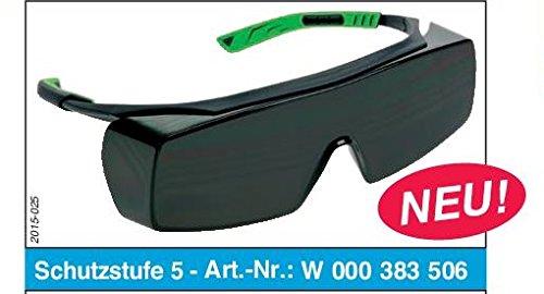OERLIKON CLASSIC OVER Welding Schweiß brille (Ü berbrille) Schutzbrille Schutzstufe 5 - EN 175