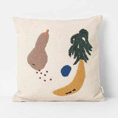 Ferm Living - fruiti Cana Cojín Plátano: Amazon.es: Hogar
