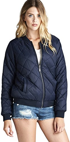 Quilted Nylon Bomber Jacket - 8