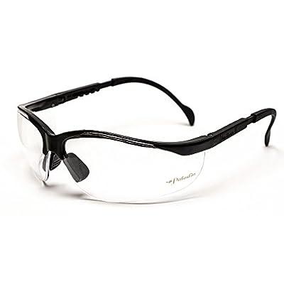 S.O. Tech PAL-BSG-CLR Paladin Ballistic Shooting Glasses, Clear Lens